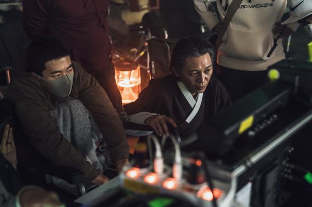 『鬼手』メイキング(c)2019 CJ ENM CORPORATION, MAYS ENTERTAINMENT ALL RIGHTS RESERVED