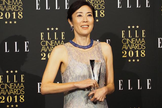 寺島しのぶ/「エル シネマアワード2018」授賞式
