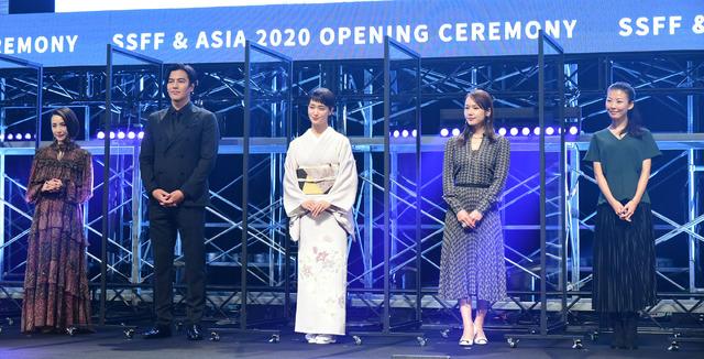 「ショートショート フィルムフェスティバル&アジア2020」オープニングセレモニー