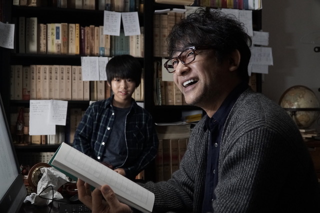 片岡愛之助『小説の神様 君としか描けない物語』メイキング (C)2020「小説の神様」製作委員会