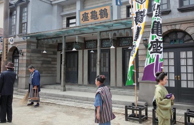 連続テレビ小説第103作「おちょやん」ロケレポート 道頓堀セット