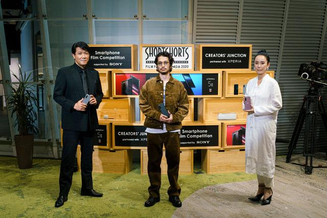 別所哲也&常田大希&河瀬直美監督/「Creators' Junction partnered with Xperia」