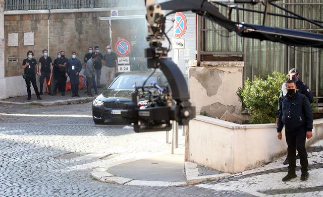 『ミッション:インポッシブル』第7弾撮影現場 Photo by Elisabetta A. Villa/GC Images