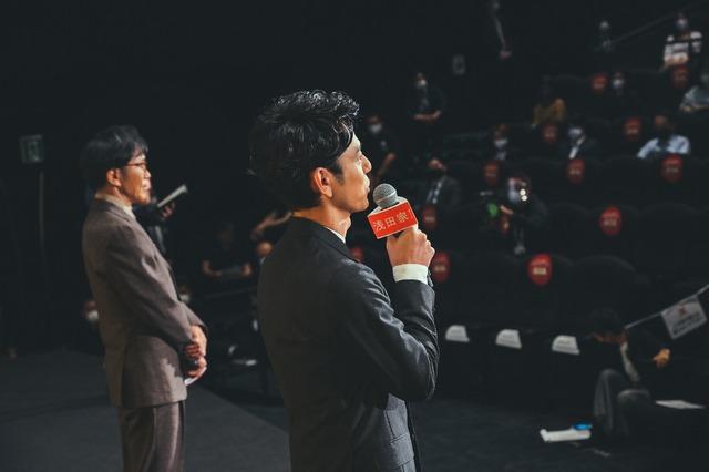 『浅田家!』初日舞台挨拶オフショット(C)2020「浅田家!」製作委員会