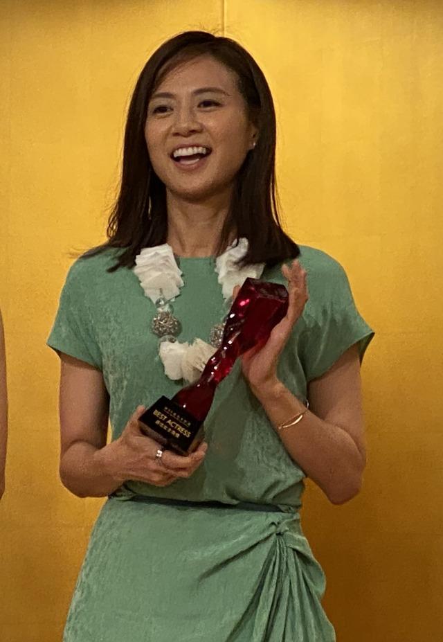 『ミセス・ノイズィ』アジア太平洋映画祭授賞式 (C)『ミセス・ノイズィ』製作委員会