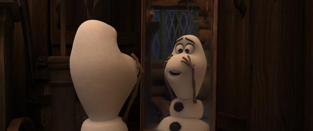「オラフの生まれた日」(C)2020 Disney