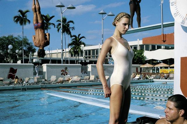 『ヘルムート・ニュートンと12人の女たち』Arena, Miami, 1978 (c) Foto Helmut Newton, Helmut Newton Estate Courtesy Helmut Newton Foundation