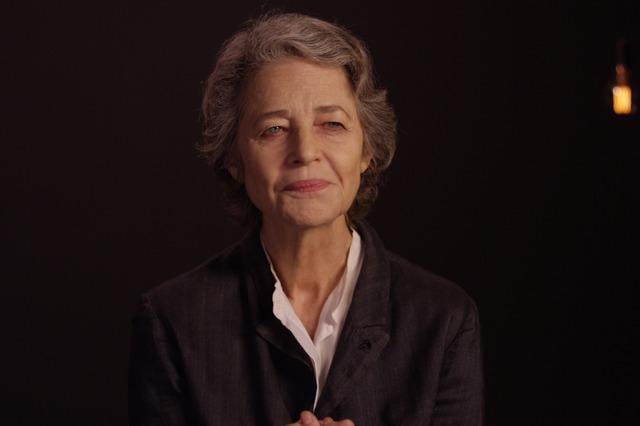 『ヘルムート・ニュートンと12人の女たち』Charlotte Rampling(c) Pierre Nativel, LUPA FILM