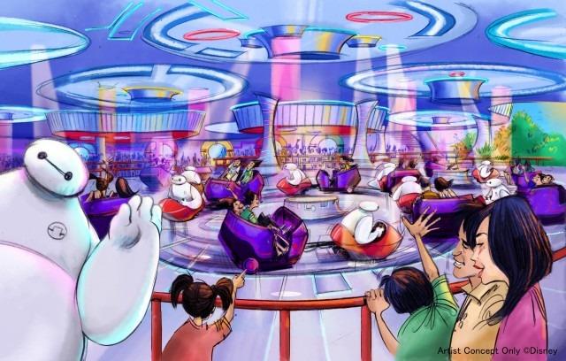 「ベイマックスのハッピーライド」(C) Disney