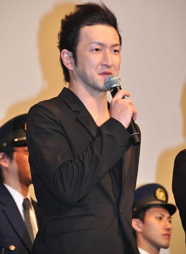 中村獅童/『日本で一番悪い奴ら』完成披露試写会