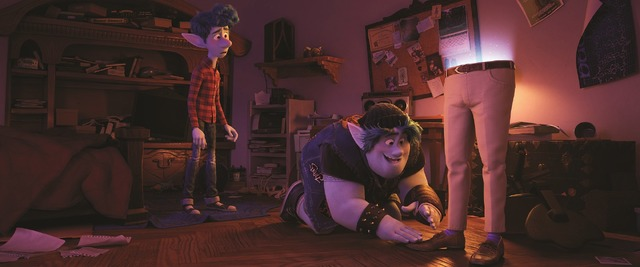 『2分の1の魔法』(C) 2020 Disney/Pixar