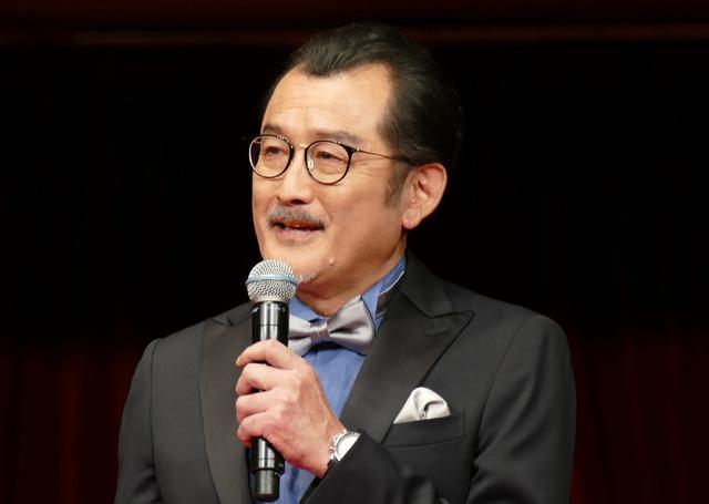 『カイジ ファイナルゲーム』の完成披露試写会 吉田鋼太郎