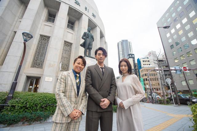 『天外者』大阪取引所にて(C)2020 「五代友厚」製作委員会