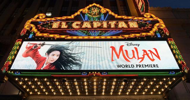 『ムーラン』ワールドプレミア Photo by Charley Gallay/Getty Images for Disney