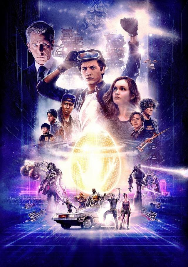 『レディ・プレイヤー1』(C)Warner Bros. Entertainment Inc.