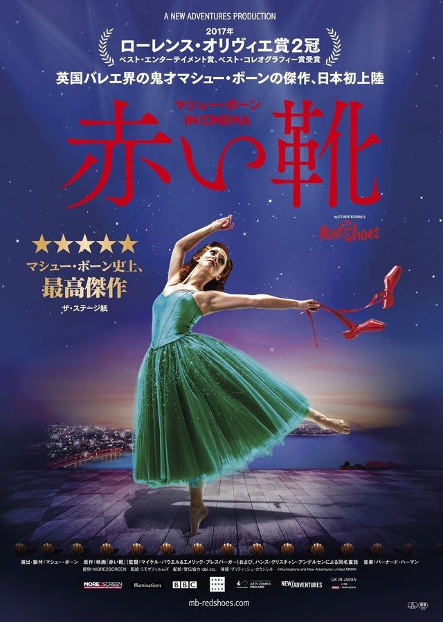 『マシュー・ボーン IN CINEMA/赤い靴』(C) Illuminations and New Adventures Limited MMXX