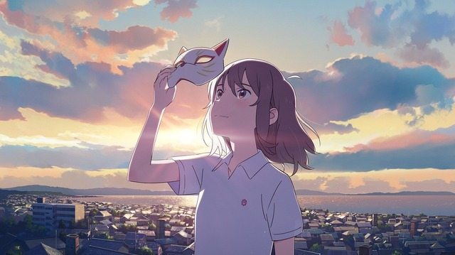 Netflixアニメ映画『泣きたい私は猫をかぶる』(C) 2020 「泣きたい私は猫をかぶる」製作委員会