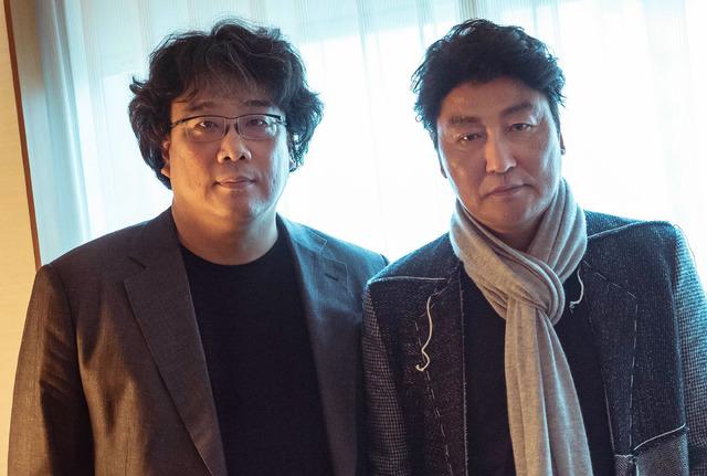 ポン・ジュノ監督&ソン・ガンホ『パラサイト 半地下の家族』/photo:You Ishii