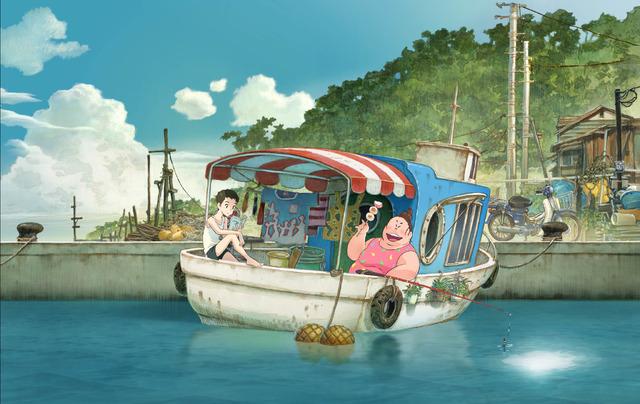 『漁港の肉子ちゃん』(C)2021「漁港の肉子ちゃん」製作委員会