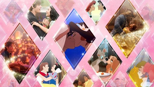 ディズニープラスバレンタイン特集 (C) 2021 Disney