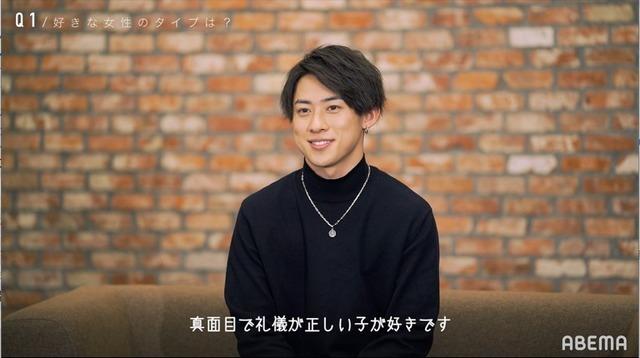 「恋とオオカミには騙されない」ちょこ(C)AbemaTV, Inc.