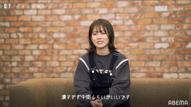 「恋とオオカミには騙されない」あおい(C)AbemaTV, Inc.