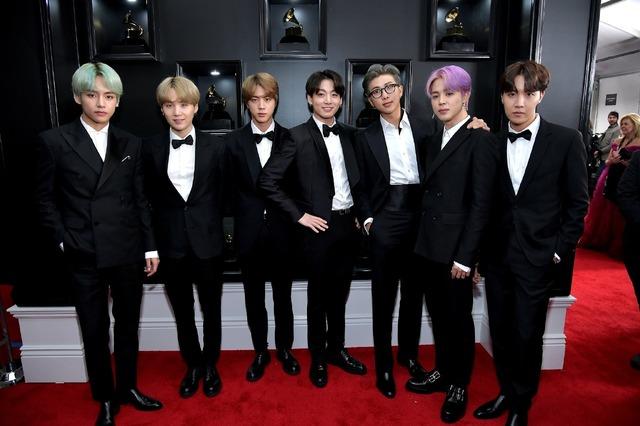 BTS (C)Getty Images