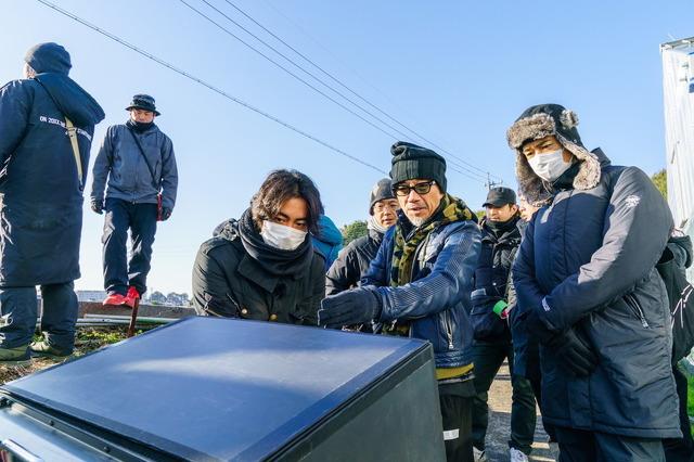 『ゾッキ』3人の監督(C) 2020「ゾッキ」製作委員会