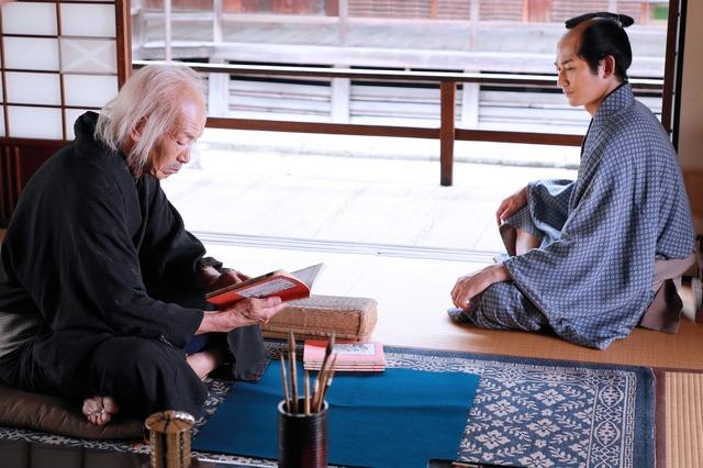 柳亭種彦(永山瑛太)『HOKUSAI』(C)2020 HOKUSAI MOVIE