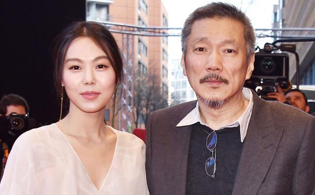 キム・ミニ&ホン・サンス監督-(C)Getty Images