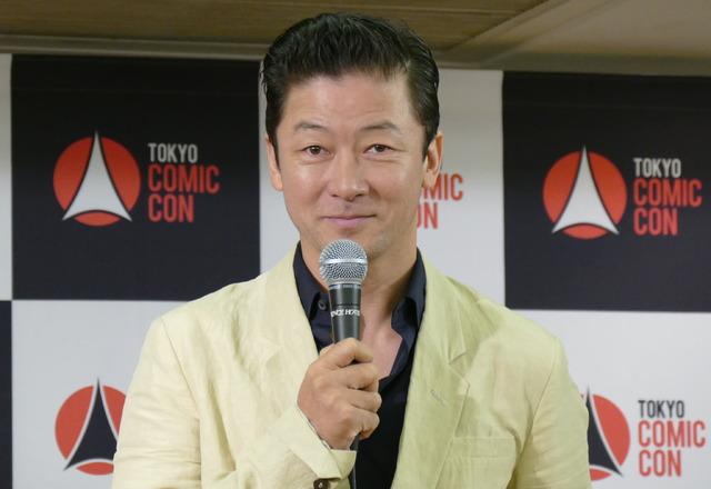 東京コミコン2019アンバサダーを務める浅野忠信