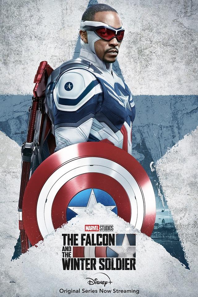 ディズニープラスオリジナルドラマシリーズ「ファルコン&ウィンター・ソルジャー」(C) 2021 Marvel