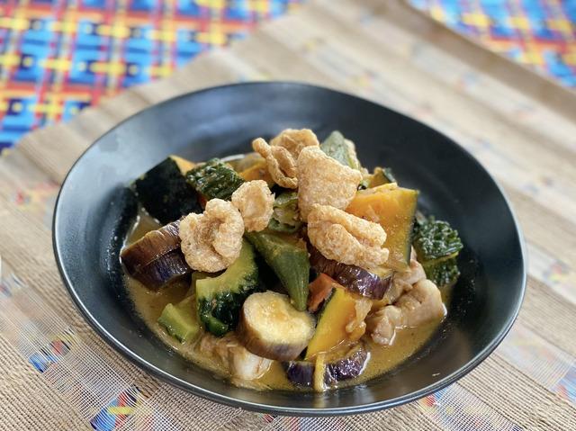 「#おうちでフィリピン フィリピン 料理にチャレンジ」Pinakbet