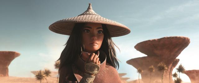 『ラーヤと龍の王国』(C) 2021 Disney