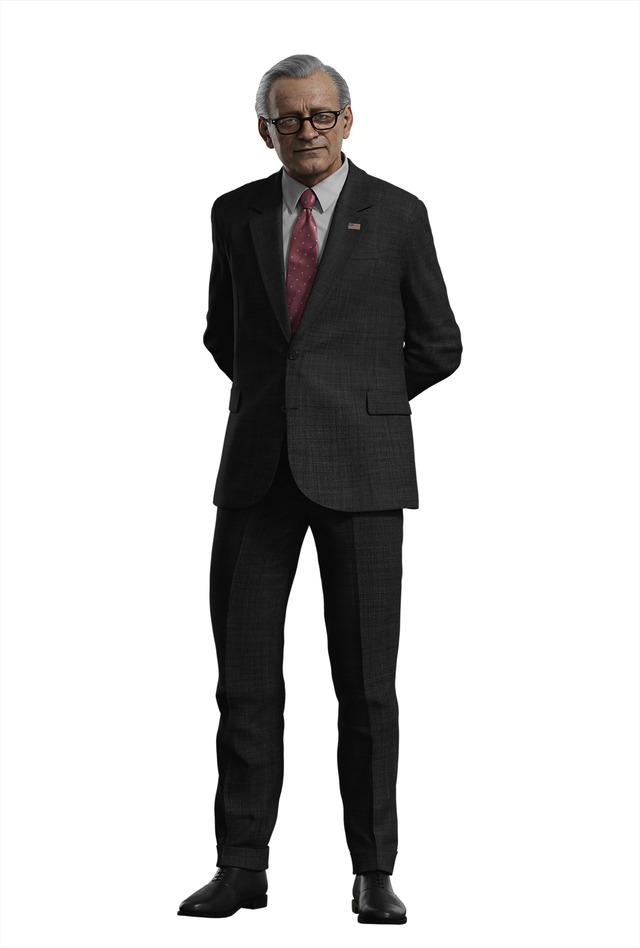 ウィルソン国防長官/Netflixオリジナルアニメシリーズ「BIOHAZARD:Infinite Darkness」(C)CAPCOM CO., LTD. ALL RIGHTS RESERVED.