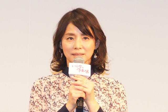 石田ゆり子『いのちの停車場』完成披露試写会