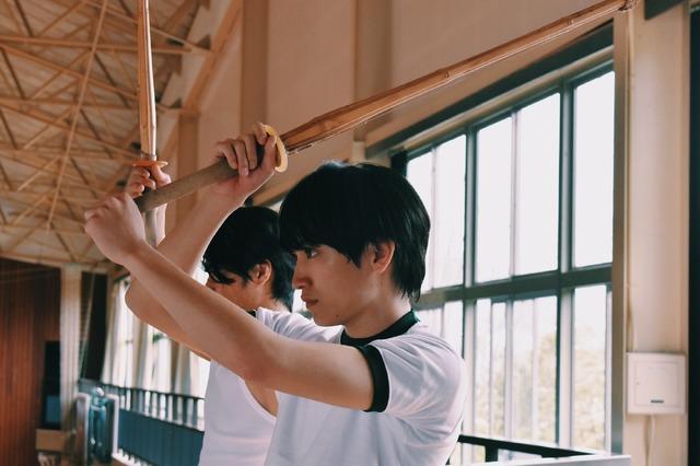 『サマーフィルムにのって』金子大地 (c)サマーフィルムにのって製作委員会