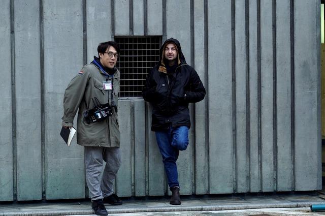 『Arc アーク』メイキング写真 (C)2021 映画『Arc』製作委員会