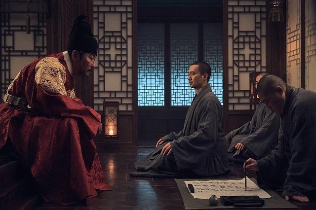 『王の願い ハングルの始まり』 (C) 2019 MegaboxJoongAng PLUS M,Doodoong Pictures ALL RIGHTS RESERVED.