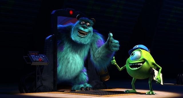 『モンスターズ・インク』ディズニープラスで配信中(C)2021 Disney/Pixar