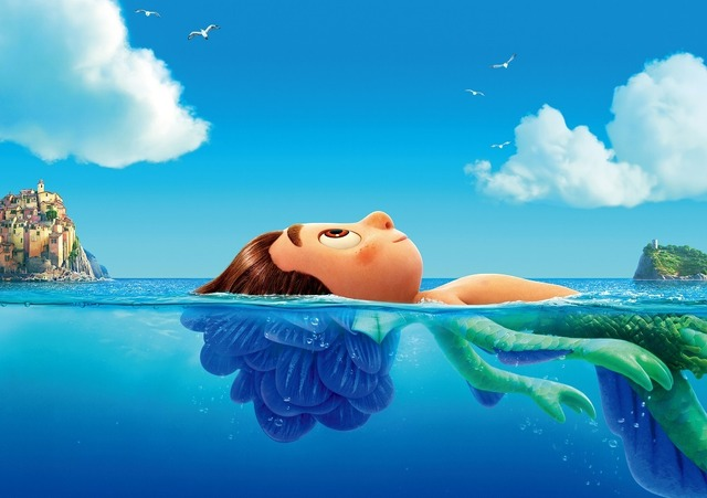 『あの夏のルカ』(C)2021 Disney/Pixar. All Rights Reserved.