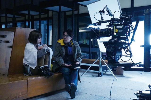 メイキング写真『Arc アーク』(c)2021映画『Arc』製作委員会