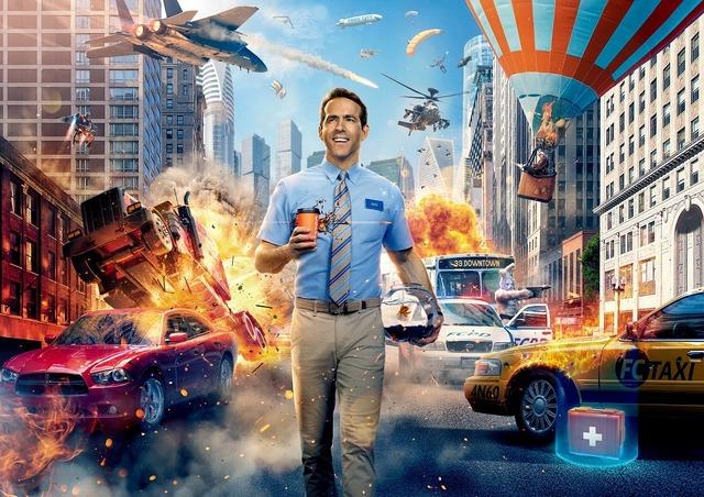 『フリー・ガイ』 (C)2021 Twentieth Century Fox Film Corporation. All Rights Reserved.