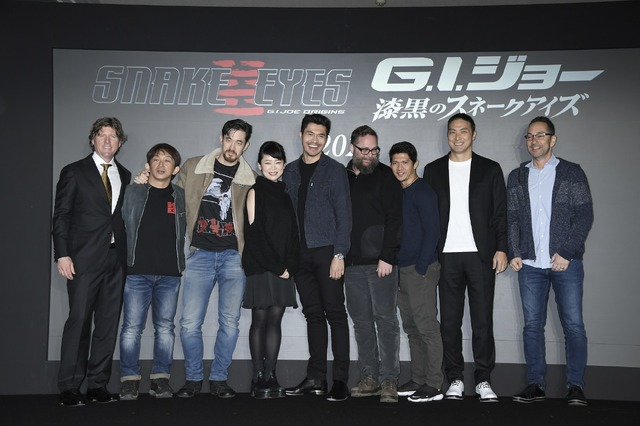 『G.I.ジョー:漆黒のスネークアイズ』 (C) 2020 Paramount Pictures. All Rights Reserved. Hasbro, G.I. Joe and all related characters are trademarks of Hasbro. (C)2020 Hasbro. All Rights Reserved.