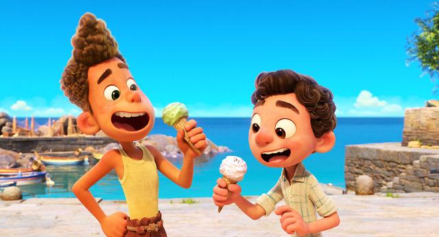 『あの夏のルカ』本ポスター (C) 2021 Disney/Pixar. All Rights Reserved.