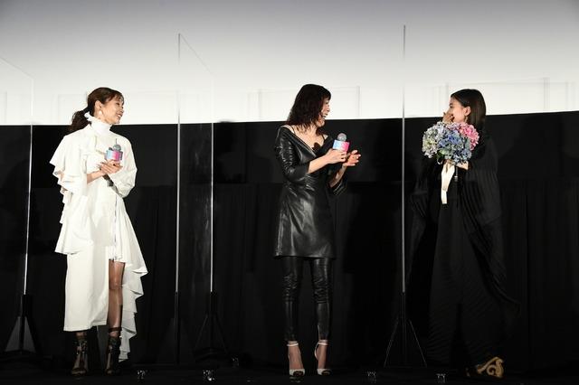 初日舞台挨拶『Arc アーク』(c)2021映画『Arc』製作委員会