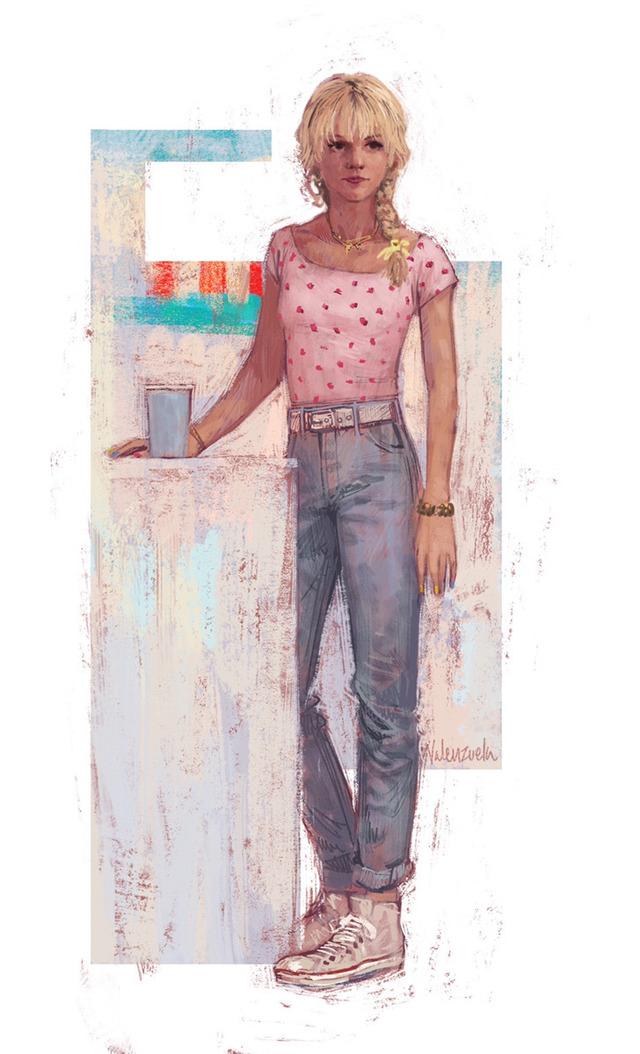 『プロミシング・ヤング・ウーマン』スケッチ画 (C)Nancy Steiner/Universal Pictures