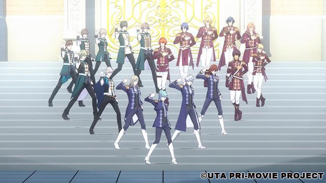 『劇場版 うたの☆プリンスさまっ♪ マジLOVEキングダム』(C)UTA☆PRI-MOVIE PROJECT