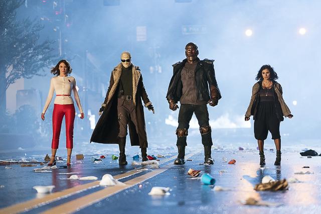 「ドゥーム・パトロール」DOOM PATROL and all related pre-existing characters and elements TM and (C) DC Comics. Doom Patrol series and all related new characters and elements TM and (C) Warner Bros. Entertainment Inc. All Rights Reserved.