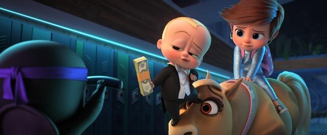 『ボス・ベイビー ファミリー・ミッション』(C) 2021 DreamWorks Animation LLC. All Rights Reserved.